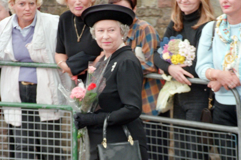 Queen Elizabeth am 5. September 1997 in London.