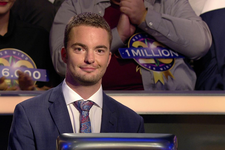 """Jan Stroh blieb cool und knacke den """"Wer wird Millionär?""""-Jackpot"""