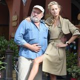 In Portofino dreht Lindbergh 2014 mit Karolina Kurkova für die International Watch Company.
