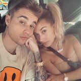 """1. August 2019  Gemeinsam durch dick und dünn:Auf Instagram beschreibt Justin Bieber seine Ehefrau Hailey als """"besten Freund""""."""