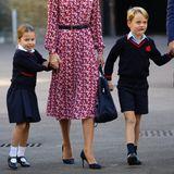 Für Prinzessin Charlotte und Prinz George geht nach den britischen Sommerferien die Schule wieder los.