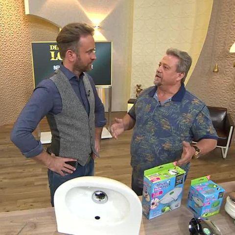 Karl-Heinz Bilz und Björn Gödde