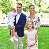 Prinz Oscar, Prinz Daniel, Prinzessin Estelle und Prinzessin Victoria