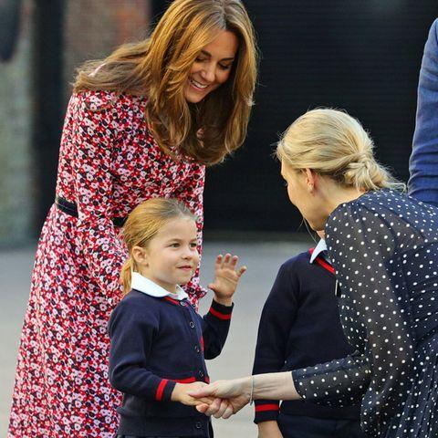 Herzogin Catherine und Prinzessin Charlotte