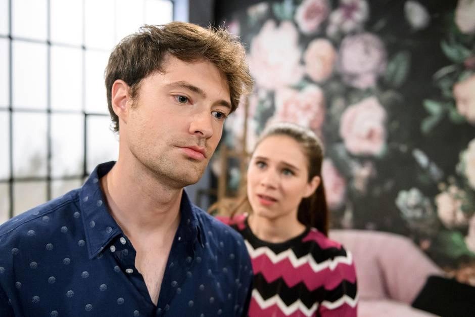 """""""Sturm der Liebe"""": Trennt sich Joshua (Julian Schneider) von Denise (Helen Barke)?"""
