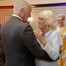 Len Goodwill und Herzogin Camilla