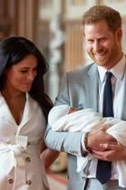 Herzogin Meghan, Prinz Harry und Archie Harrison Mountbatten-Windsor