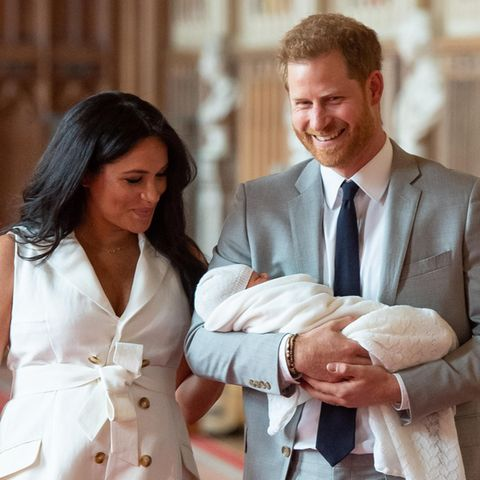 Herzogin Meghan, Prinz Harry und Archie Harrison Mountbatten-Windsor