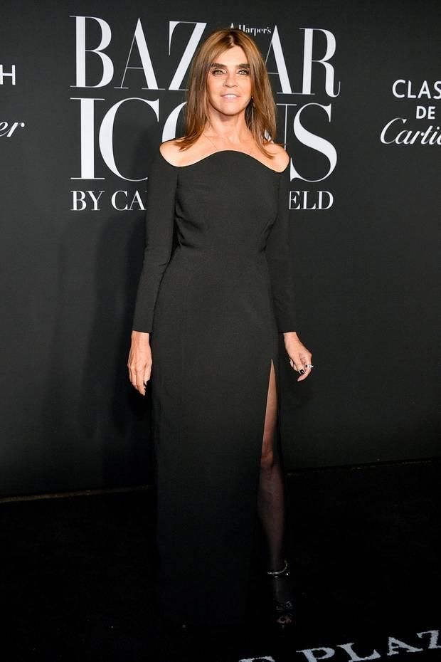 """Wenn Carine Roitfeld, Global Fashion Director von Harper's Bazaar, zur legendären """"Icons""""-Party einlädt, kommen alle!"""