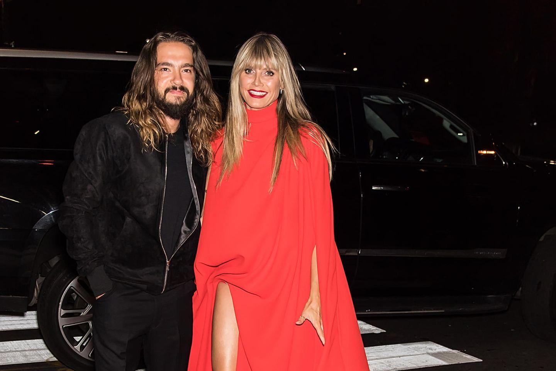 Tom Kaulitz + Heidi Klum