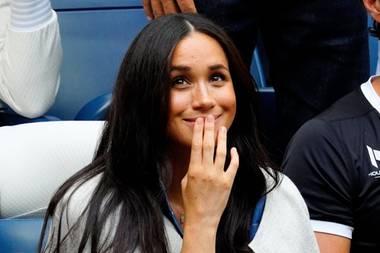 Herzogin Meghan bei den US Open in New York: Dieser Look hat leider kein Glück gebracht.