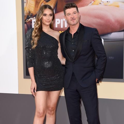 April Love Geary und Robin Thicke