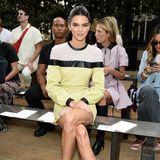 Kendall Jenner in der Front Row von Longchamp