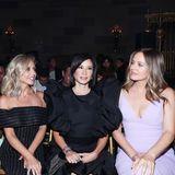 Hollywood-Stars unter sich: Marsai Martin, Sarah Michelle Gellar, Lucy Liu und Alicia Silverstone nehmen in der Front Row von Christian Siriano Platz.