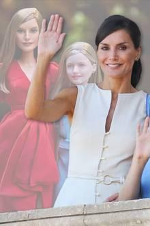 Königin Letizia + Prinzessin Leonor