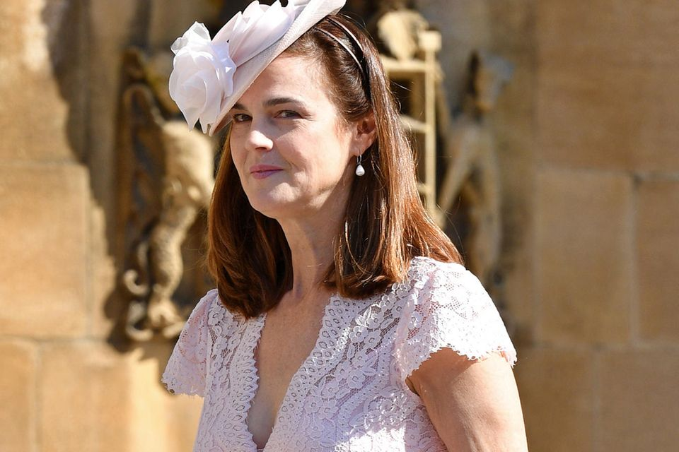 Samantha Cohen, die Privatsekretärin von Prinz Harry und Herzogin Meghan