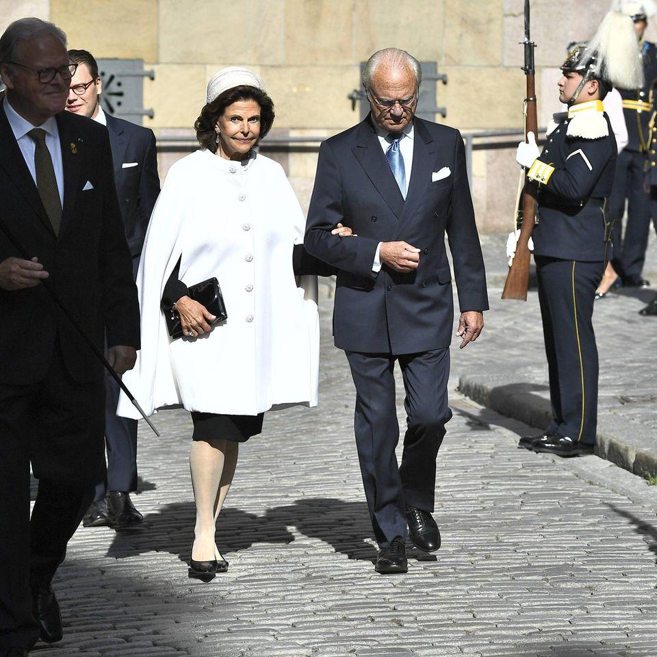 Natürlichnehmen auch Königin Silvia und König Carl Gustaf an den Feierlichkeiten teil.