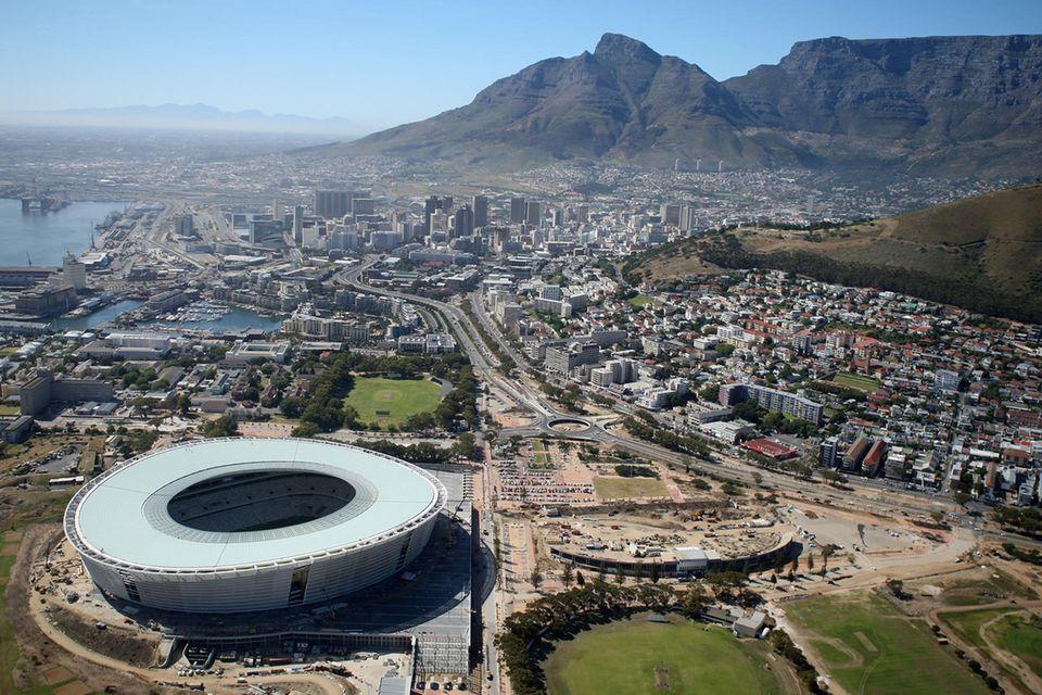 Kapstadt, die erste Station für Prinz Harry und Herzogin Meghan auf ihrer Afrika-Tour.