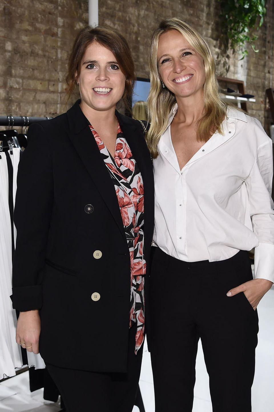 Prinzessin Eugenie (l.) und Misha Nonoo (r.) am 9. September in New York