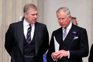 Prinz Andrew und Prinz Charles