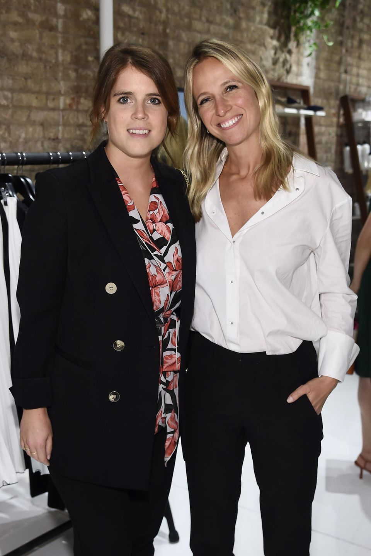 Prinzessin Eugenie besucht ein Fashion-Week-Event von Misha Nonoo.