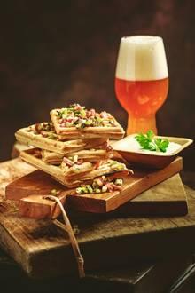 Gourmet: Weizenbier-Waffeln