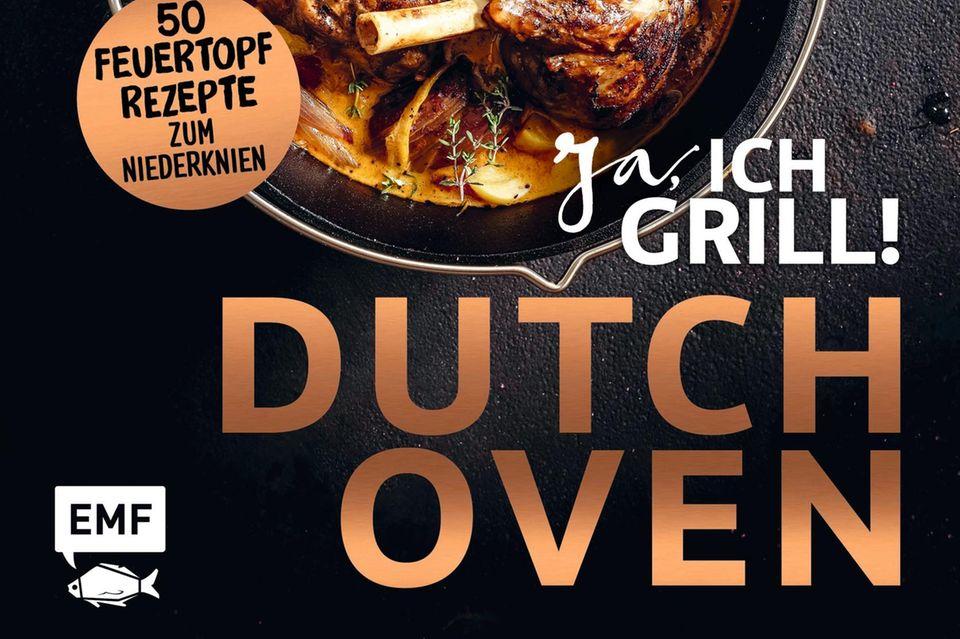 """Mit 21 wurde die Stuttgarterin Mora Fütterer Küchenchefin - sie mischt die männerdominierte BBQ-Szene richtig auf. Auch am jetzt wieder angesagten gusseisernen Feuertopf ist sie eine Meisterin. Ihre Rezepte gelingen aber auch hervorragend in einer herkömmlichen Küche. (""""Ja, ich grill! Dutch Oven"""", EMF Verlag, 160 S., 22 Euro)"""