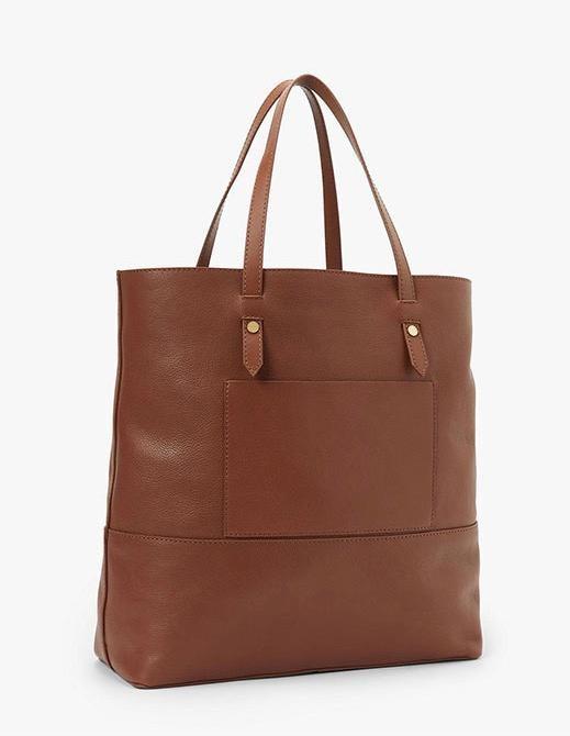 """Smart Set Tote Bag"" aus hellbraunem Leder ist bei ""John Lewis"" erhältlich."