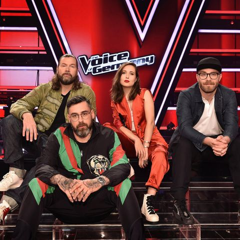 The Voice of Germany 2019: Rea Garvey, Sido, Alice Merton und Mark Forster