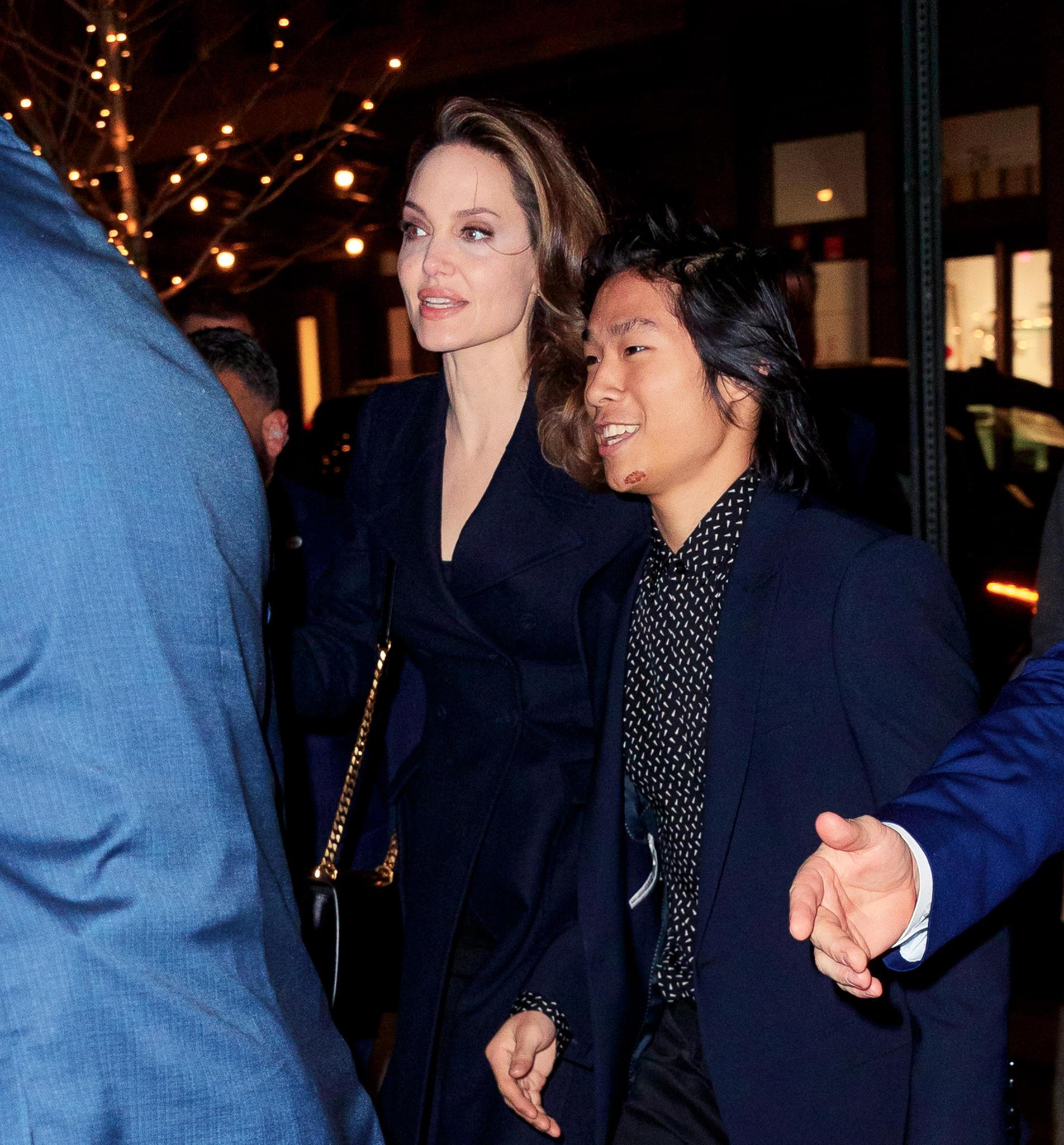 Angelina Jolie und Maddox Jolie-Pitt