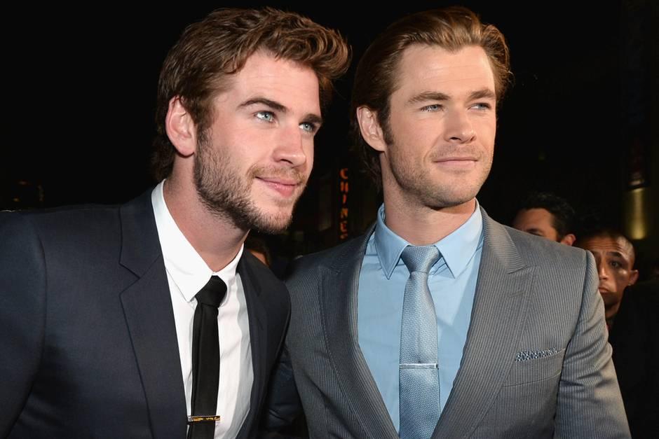 Liam und Chris Hemsworth