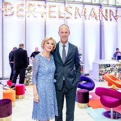 Liz Mohn und Bertelsmann-Vorstandsvorsitzende Thomas Rabe