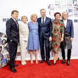 Otto und Beate Rehhagel, Liz Mohn, Clemens und Margit Tönnies und Hermann Bühlbecker