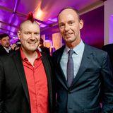 Sascha Lobo und Bertelsmann-Vorstandsvorsitzende Thomas Rabe