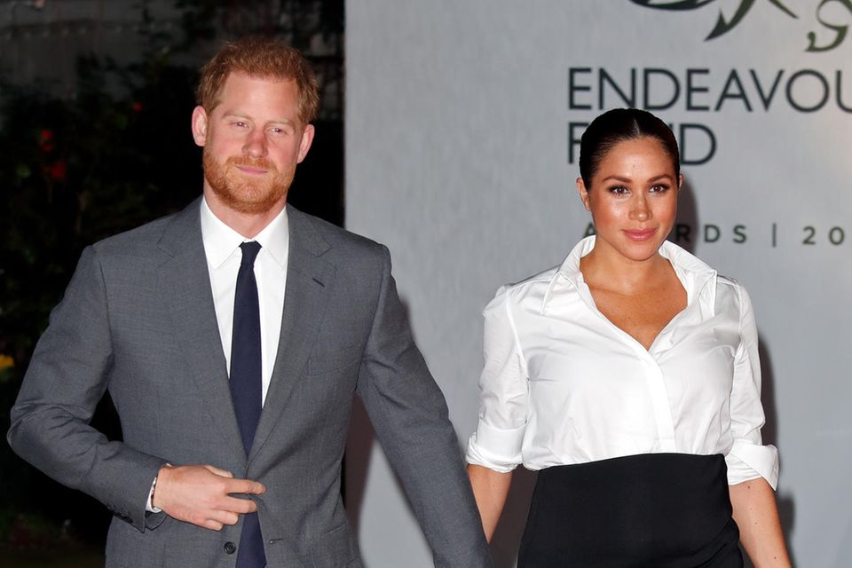Prinz Harry und Herzogin Meghan bei denEndeavour Fund Awards in London