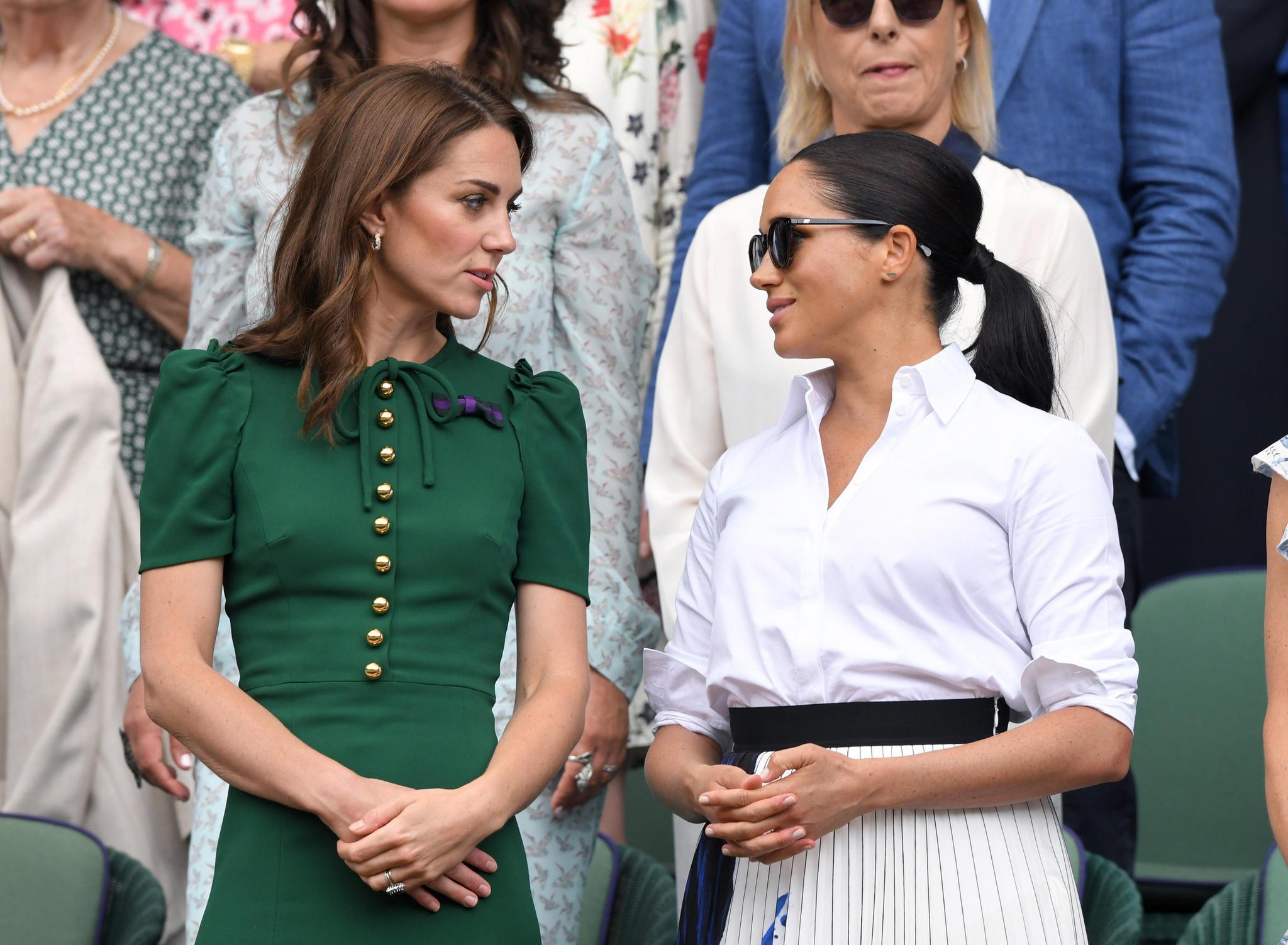 Herzogin Catherine, Herzogin Meghan beim Wimbledon in London