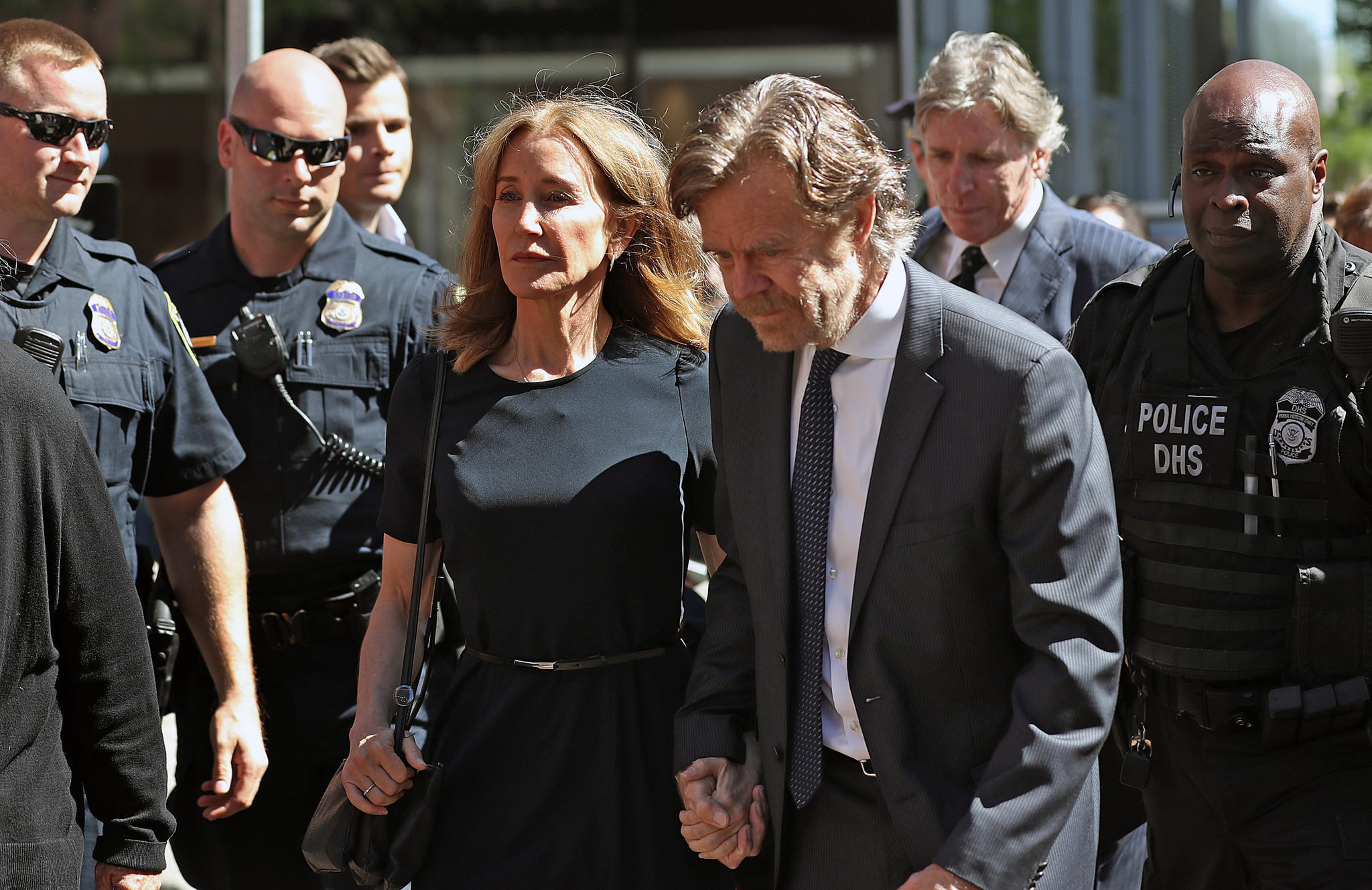 Felicity Huffman + William H. Macy