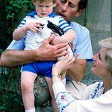 Schauen Sie mit uns zurück auf die schönsten Kinderbilder von Harry und seinem großen Bruder Prinz William.