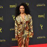 Angela Bassetts Red-Carpet-Style bei den Creative Emmys ist wirklich Gold wert.