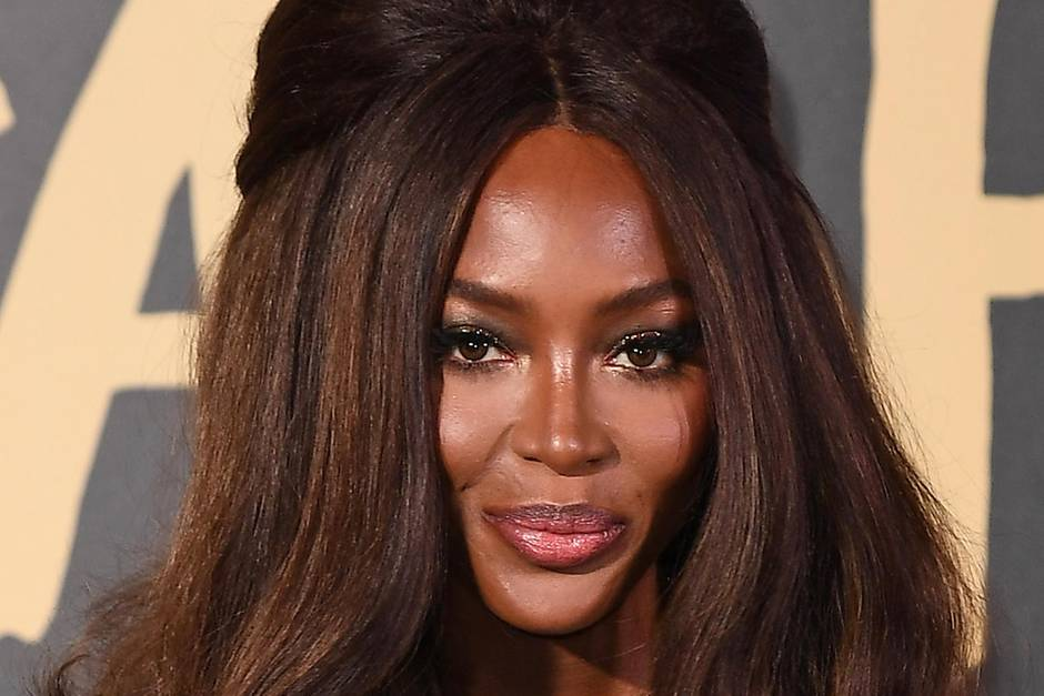 Naomi Campbell: Naomi Campbell auf der London Fashion Week