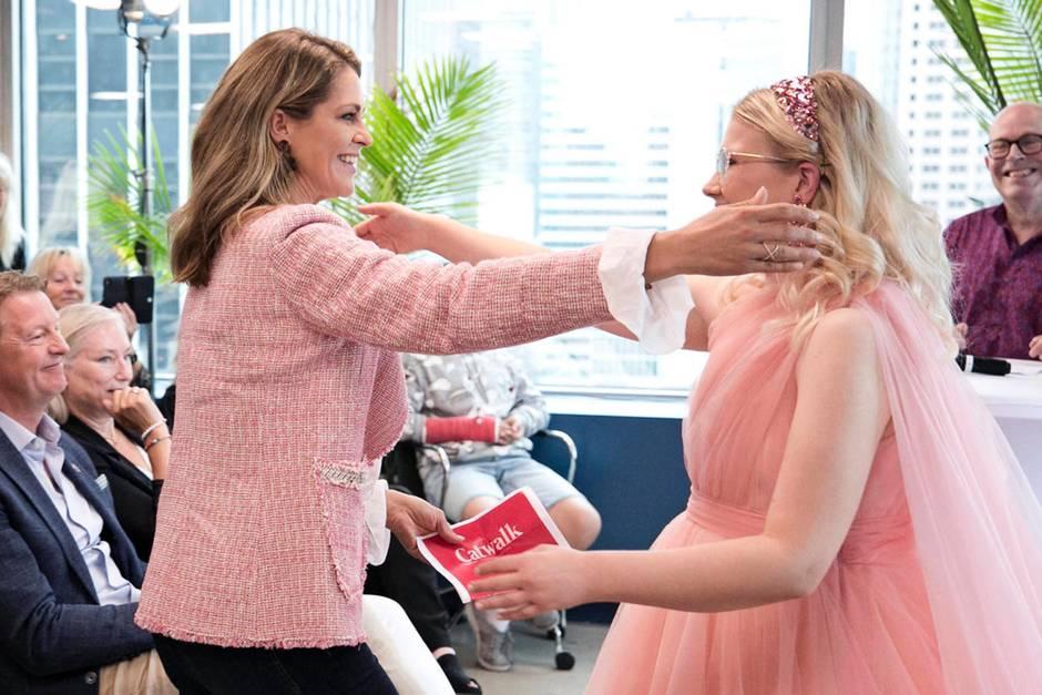Prinzessin Madeleine feierte Emma Örtlund stürmisch
