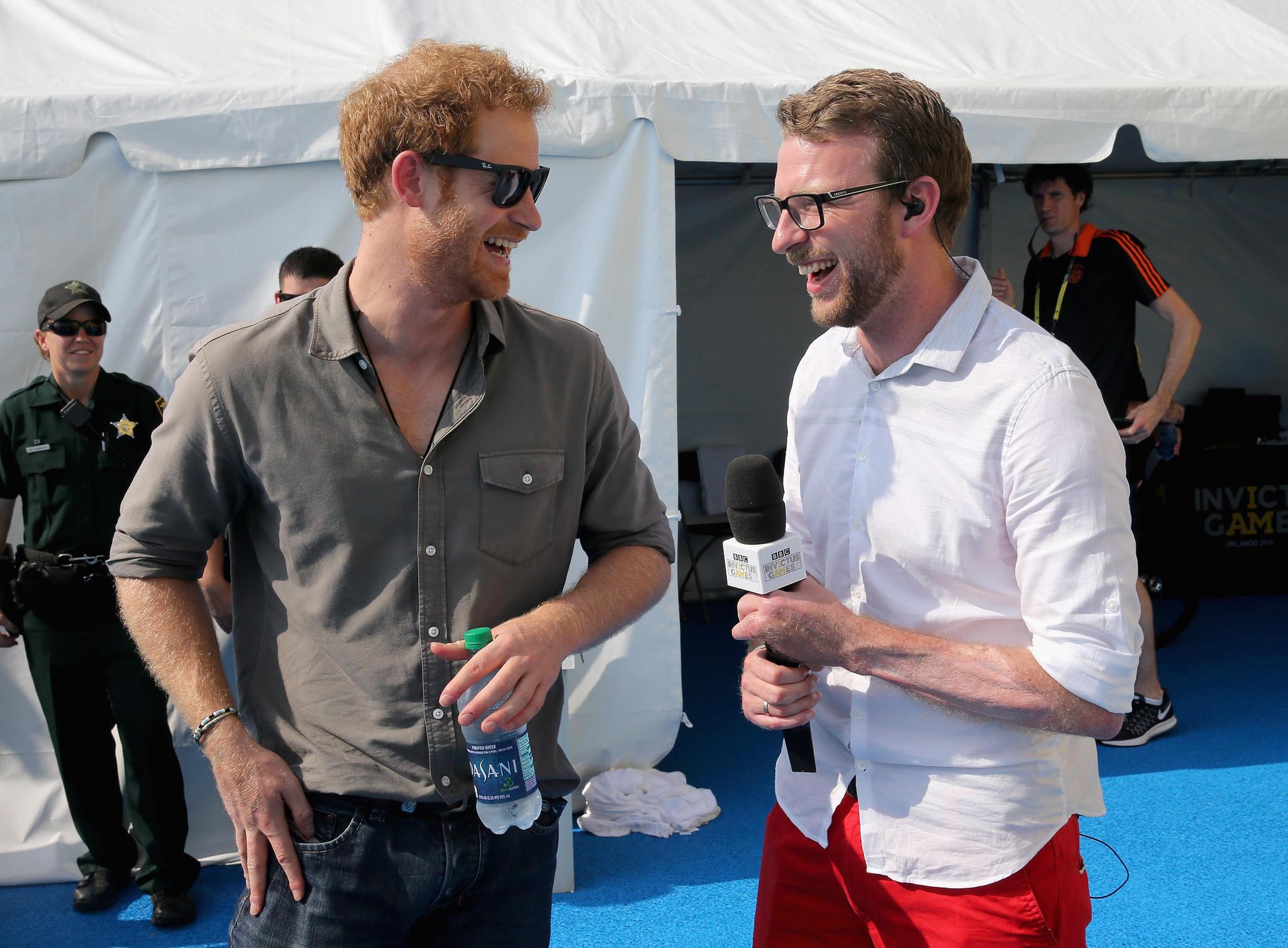 PrinzHarry undJJ Chalmers