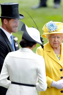 Prinz Harry, Herzogin Meghann und Queen Elizabeth