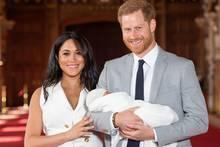 Meghan, Archie und Prinz Harry