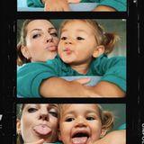 16. September 2019  Die kleine Mia Rose hat viel Spaß mit Mama Sarah beim Rumalbern.