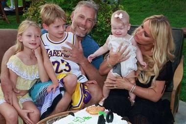 Zum 40. Geburtstag ihres Mannes Eric hat Jessica Simpson eine kleine Familien-Party vorbereitet. Und (fast) allen scheint es zu gefallen.