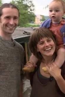 Jake und Hobbit mit ihrem Kind Anoush