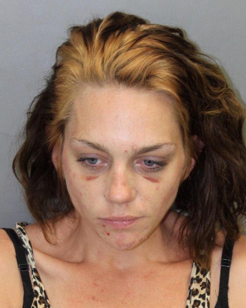 Renee Alway bei ihrer Verhaftung 2013