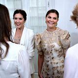 Prinzessin Victoria zeigt sich bei ihrem Besuch in Dänemark in einem stilvollen Look nach dem anderen. Dieses Outfit ist jedoch unser absolutes Highlight ...
