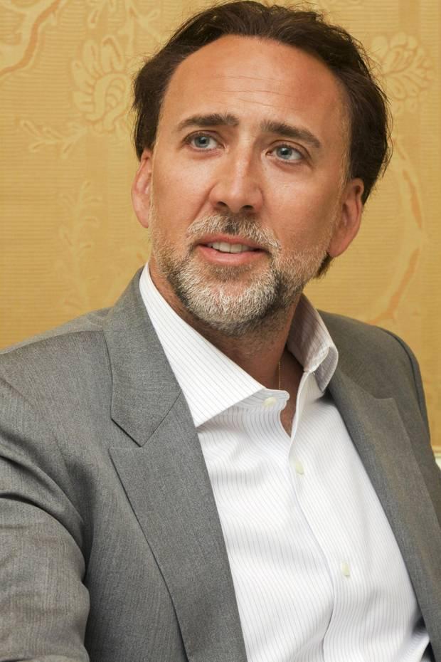 Adrett und geschniegelt kennen wir Schauspieler Nicolas Cage, wie bei diesem Pressetermin 2009 in New York.